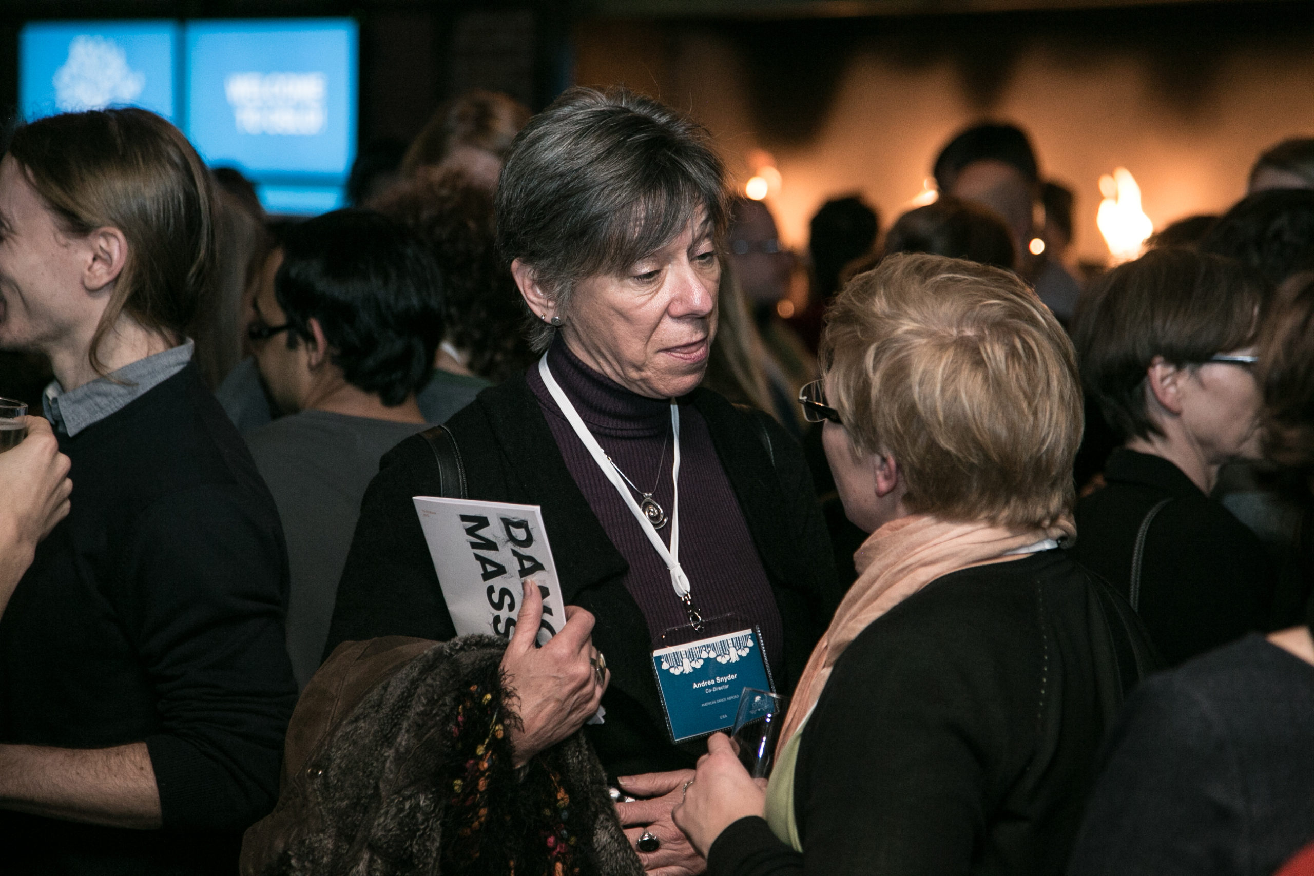 People attending Ice Hot Oslo 2014